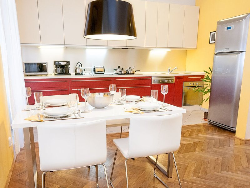 Chic apartment in Prague center, holiday rental in Zdiby