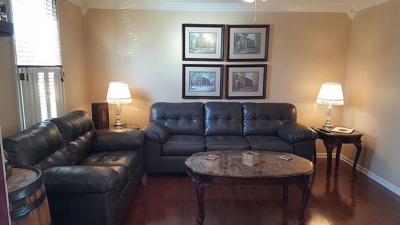 Living Room - Queen Sleeper Sofa (Air Dream 11' of Comfort)