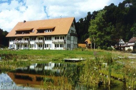 Apartment Wolfstal mit 90 qm, 2 Schlafzimmer für maximal 6 Personen, casa vacanza a Bad Urach