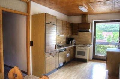 Ferienwohnung 1 mit ca. 80qm, 2 Schlafzimmer, für maximal 6 Personen, aluguéis de temporada em Kniebis