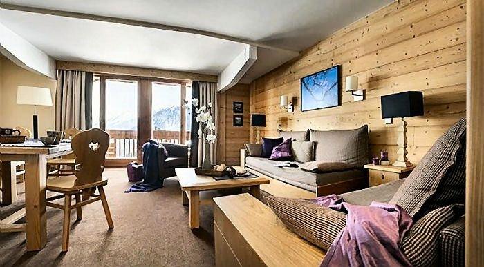Résidence Pierre & Vacances Premium Les Chalets du Forum**** - 4 Pièces 10 Perso, vacation rental in Courchevel