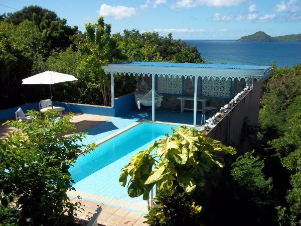 Charming Property! Beautiful ocean and St Kitts Views!, vacation rental in Turtle Beach