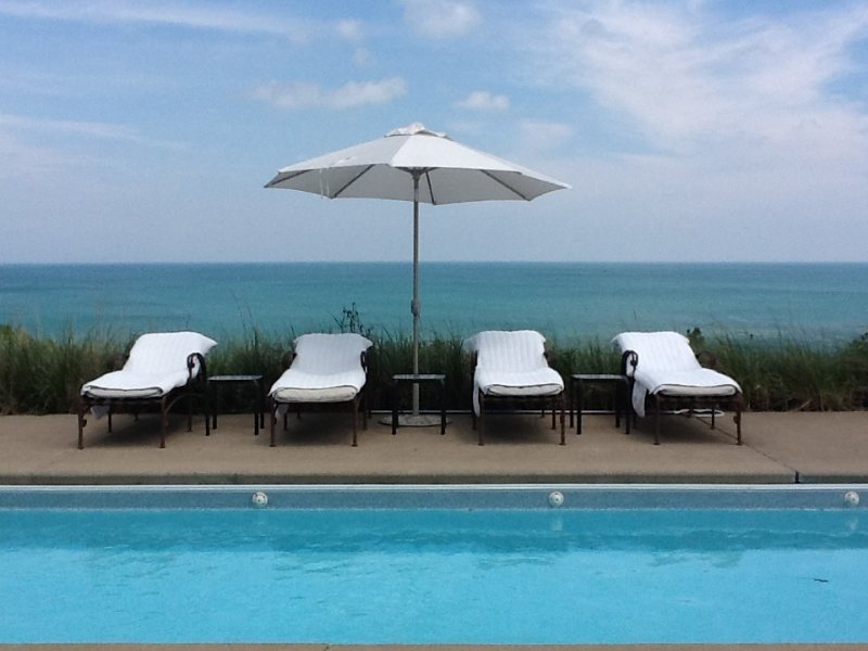 Lake Michigan Private Family Compound With Pool, alquiler de vacaciones en Gary