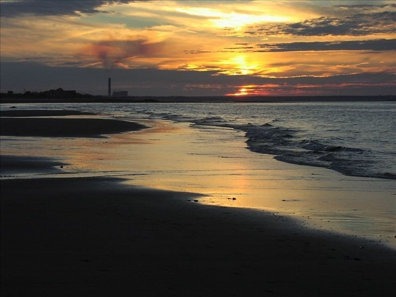 Beautiful sunsets and sandbars at low tide