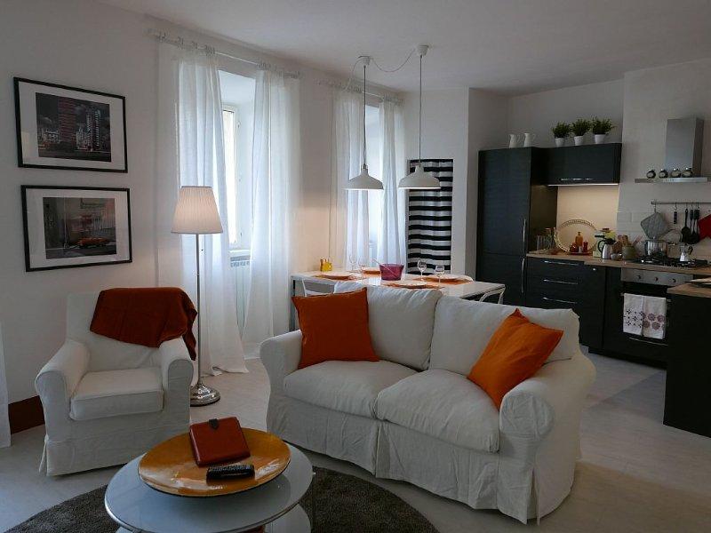 SIENA, city centre, beautifully renovated bright apartment, holiday rental in Moltacino
