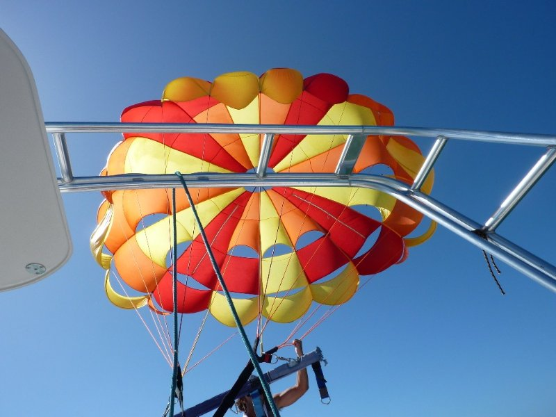 Check out the view of Key West from a parasail.