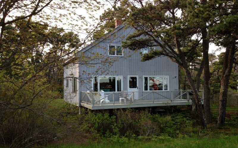 Oceanfront Cottage In The Center Of Popham Beach, holiday rental in Georgetown