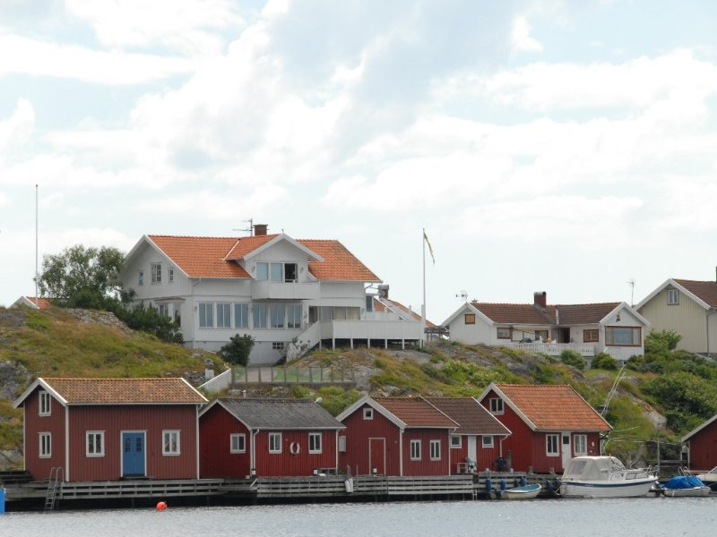 Dream Home On The WestCoast, Fantastic Views, Dock And Boat House, alquiler de vacaciones en Kungshamn