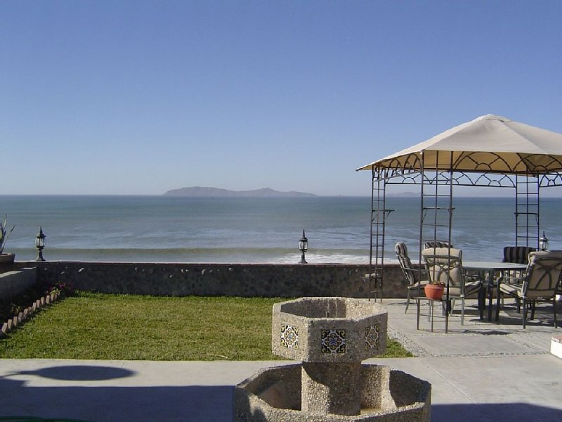 View of the Coronado islands from the patio