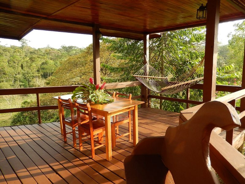 Tropical Rainforest Mountain House Near Volcano Arenal. Private and Safe., holiday rental in Province of Alajuela