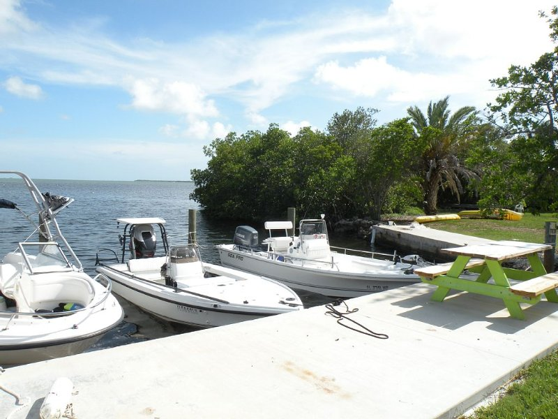 Direct Oceanfront - Atlantic Side - Dockage - Swimming Pool - Kayak, holiday rental in Cudjoe Key