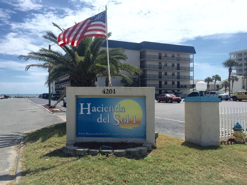 Hacienda Del Sol I 2/2 **The Best on the Beach!**  *Hurry!*  *Don't Miss It!, holiday rental in New Smyrna Beach