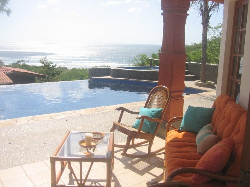 Phenomenal ocean view from infinity pool. 'Very high end home'., Ferienwohnung in San Juan del Sur
