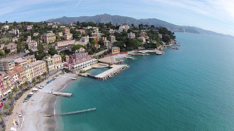 a bela Santa Margherita Ligure (retrato sob copyright de Luca Dondero 2015)