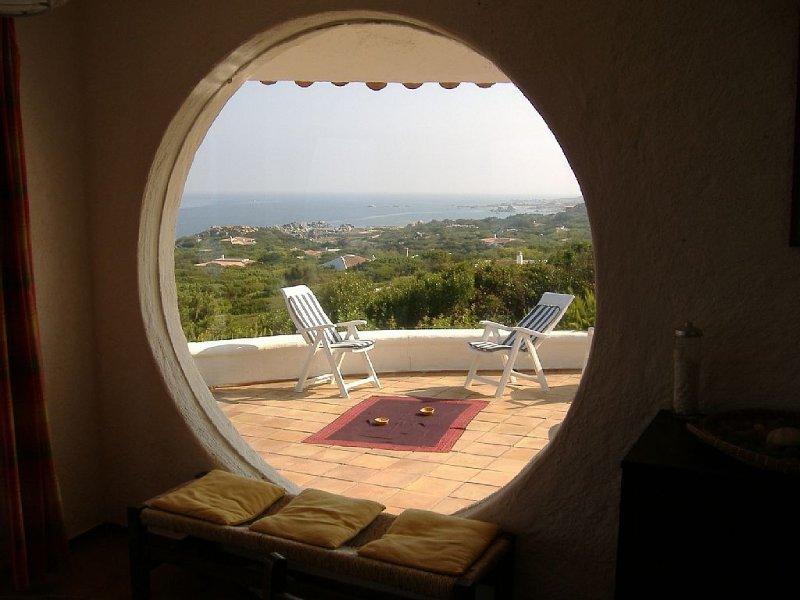 Esclusiva parte di villa a Portobello di Gallura Vignola in Sardegna, holiday rental in Aglientu