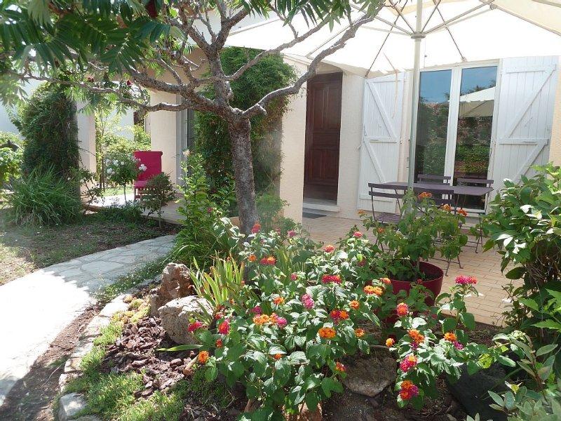 LE PETIT PARADIS DU MARIN Maison récente, plein pied, près étang 10 mn de la mer, location de vacances à Marseillan