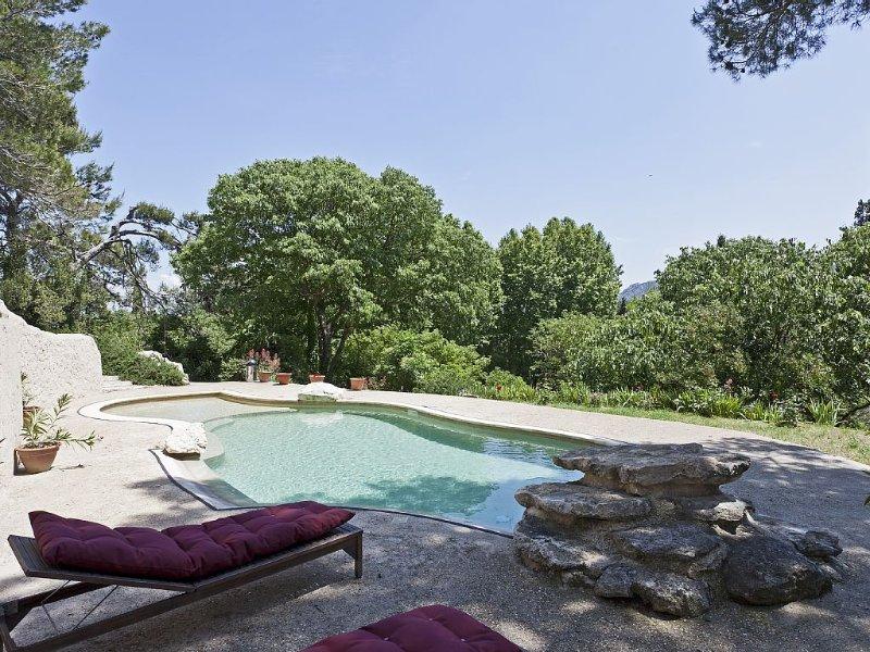 Maison individuelle de charme au coeur du parc naturel des Alpilles, Ferienwohnung in St-Rémy-de-Provence