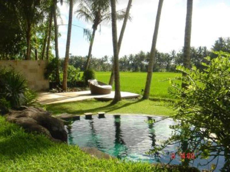 Villa traditionnelle au cœur des rizières, Ubud, alquiler de vacaciones en Ubud