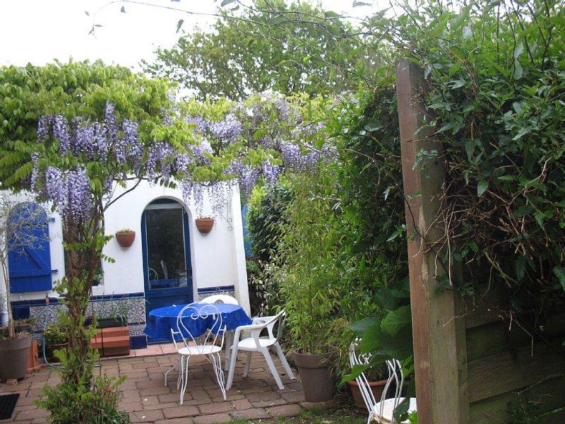 Maison avec jardin dans la capitale bigoudenne .location classée 2 étoiles ., alquiler vacacional en Plomeur