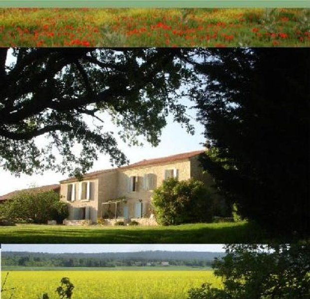 CAMPAGNE D AIX EN PROVENCE BELLE FERME ANCIENNE RENOVEE, holiday rental in Eguilles