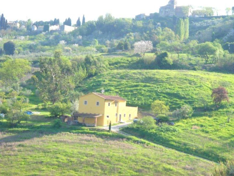 Il 'Podere il Livello' è situato nel cuore della Toscana occidentale., alquiler vacacional en Casciana Alta