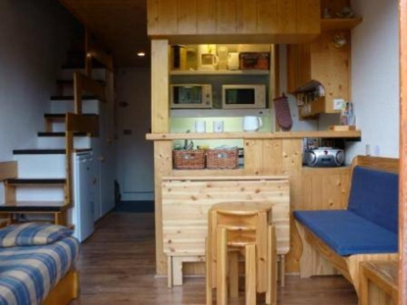 Arc 1800 - Duplex of 34 m² in a quiet residence - door Access - near the slopes, holiday rental in Les Arcs