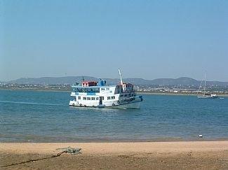 Boat from Olhao to Islands Culatra, Armona, Farol