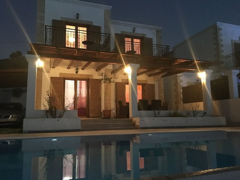 House at only 150m (165 yards) from the beach, alquiler vacacional en Kalathos