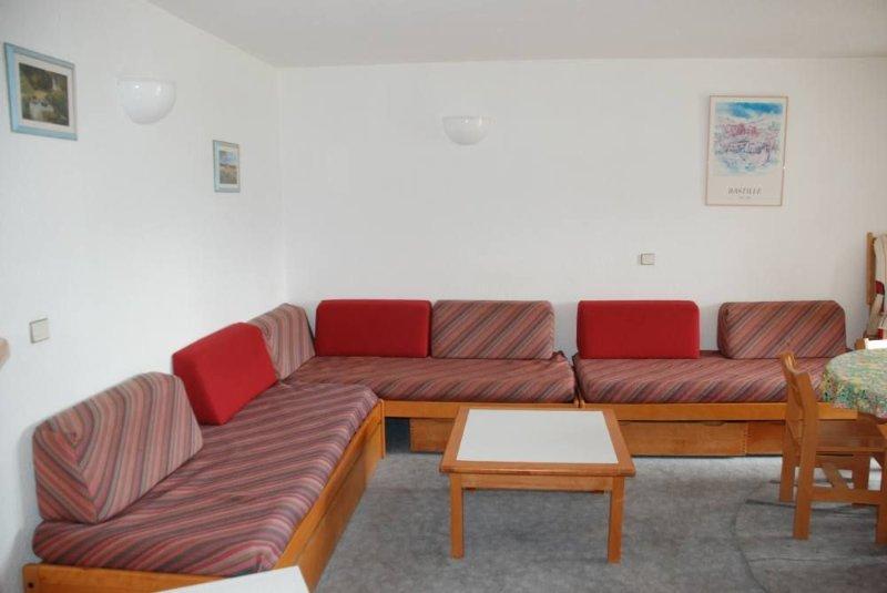 Appartement tout confort, au pied des pistes, exposition sud, commerces .Très ca, vacation rental in L'Alpe-d'Huez