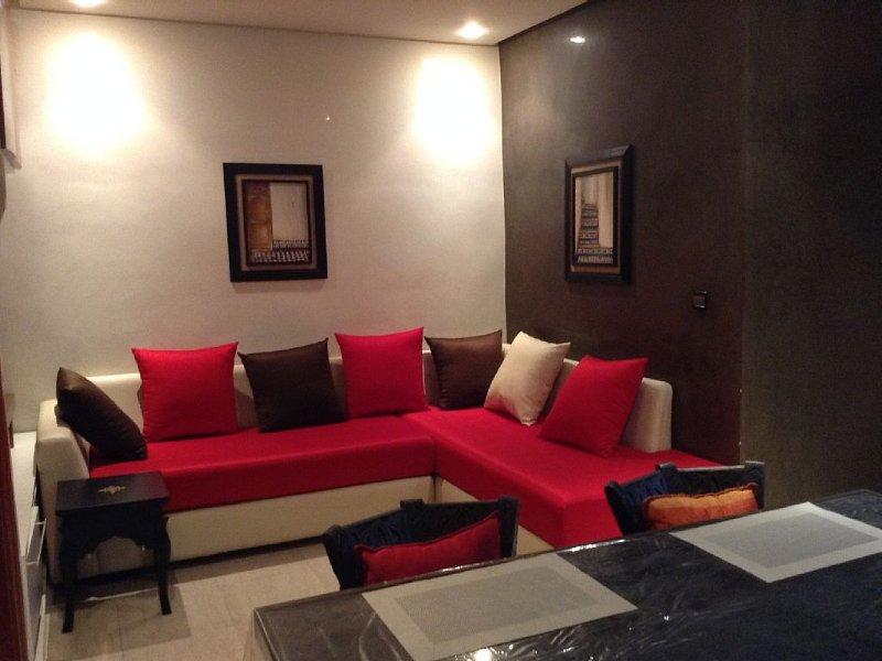 Appartement de charme et très lumineux au coeur de Rabat Haut Agdal, Internet/Wi, alquiler de vacaciones en Región de Rabat-Salé-Zemur-Zaer