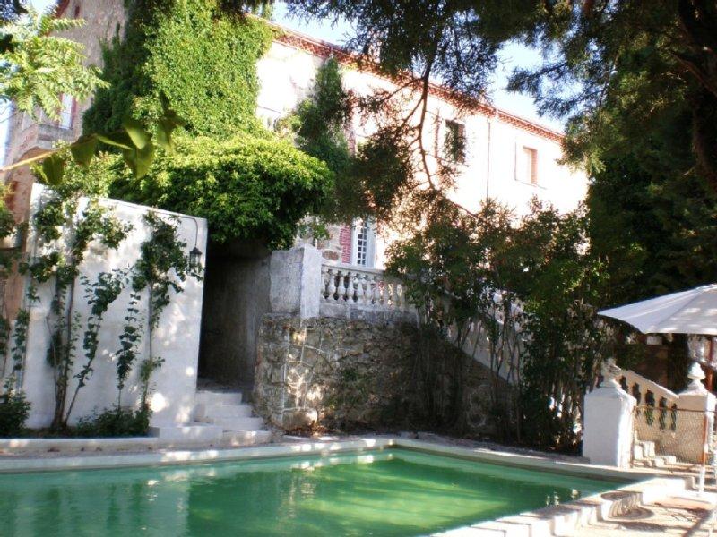 Villa Carmen - utsikt från poolen
