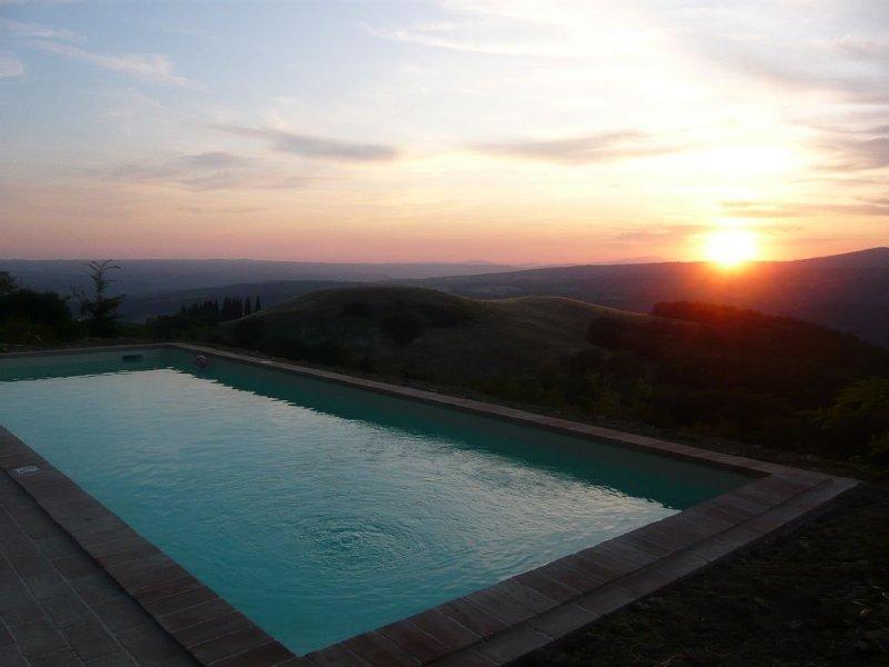 Sunset over Orvieto