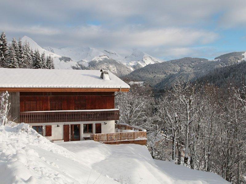 Magnifique chalet aux  Gets (Portes du soleil), Classé 4*, sans vis-à-vis, sauna, location de vacances à Haute-Savoie