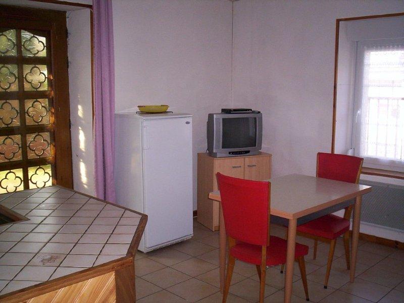 Appartement et terrain privé, promotions pour 2 semaines, vacation rental in Le Thillot