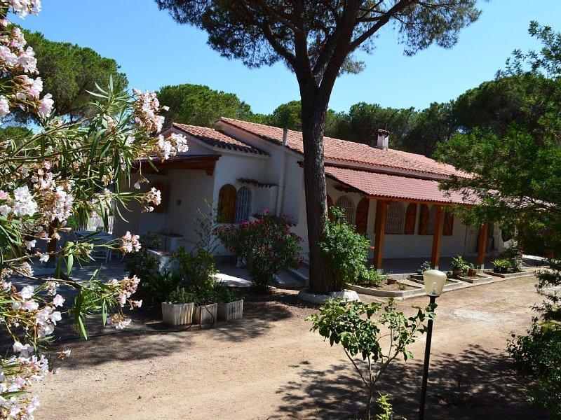 Villa singola immersa in pineta di 13000mq Santa Margherita, vakantiewoning in Pula
