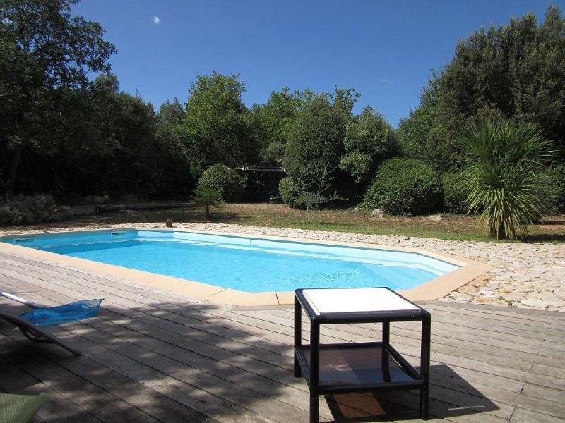 Villa  entièrement rénovée idéale pour repos et découverte,, holiday rental in Gareoult