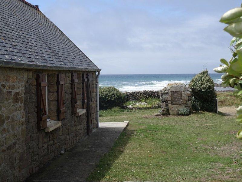 Maison de vacances en bord de mer, location de vacances à Plozévet