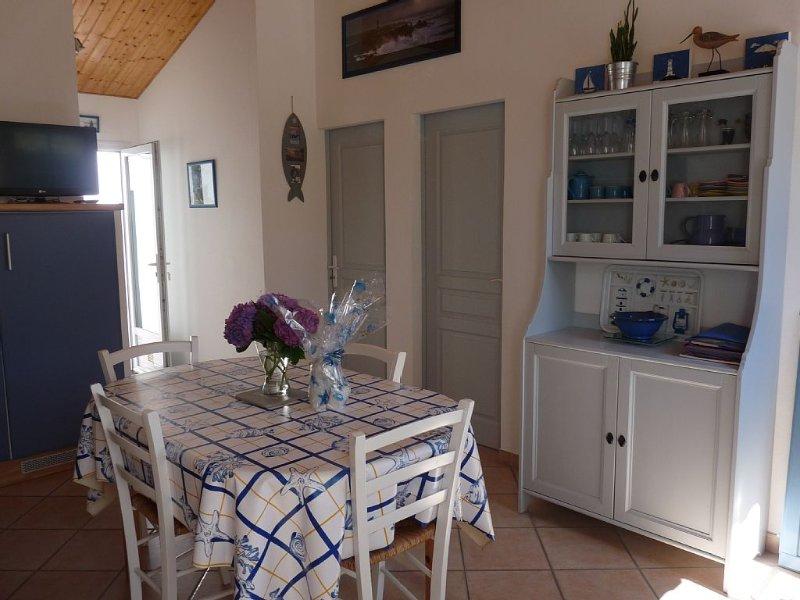 Ile de Noirmoutier-La Guérinière-WIFI-100 m de la plage, location de vacances à Vendée