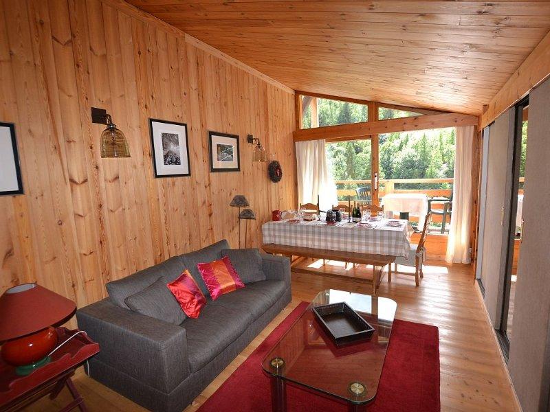 Appartement de charme 60 m2 à moins de 50 m des pistes, location de vacances à Hautes-Alpes