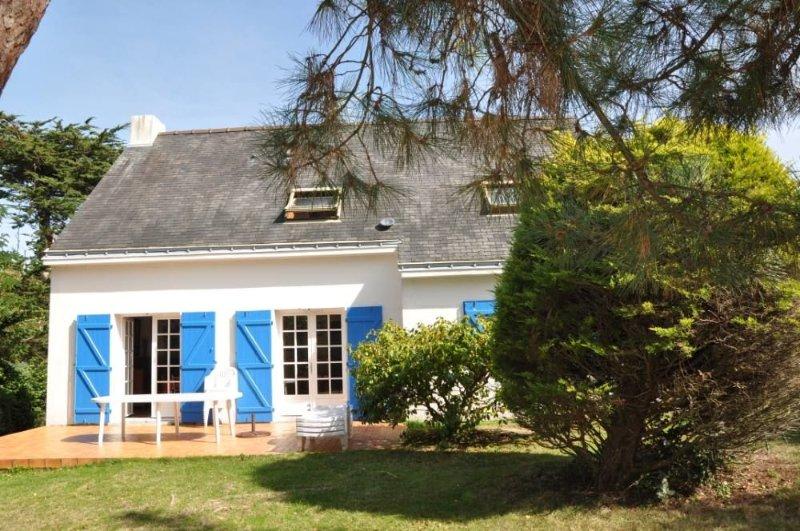 Grande maison avec jardin à la plage, location de vacances à Piriac-sur-Mer