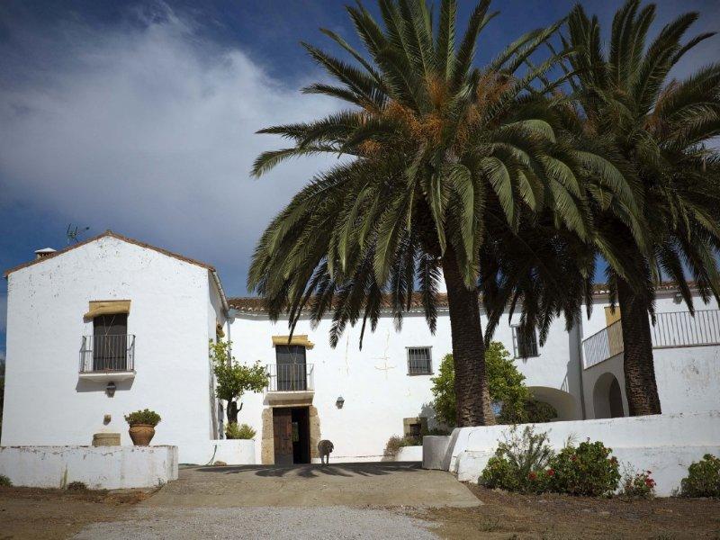 Preciosa casa-lagar siglo XVIII con magníficas vistas y piscina junto a Trujillo, vacation rental in Extremadura