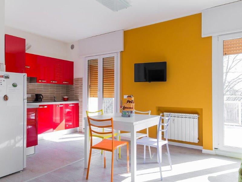 Spazioso luminoso con magnifica terrazza - 15 min da Venezia centro, holiday rental in Venice