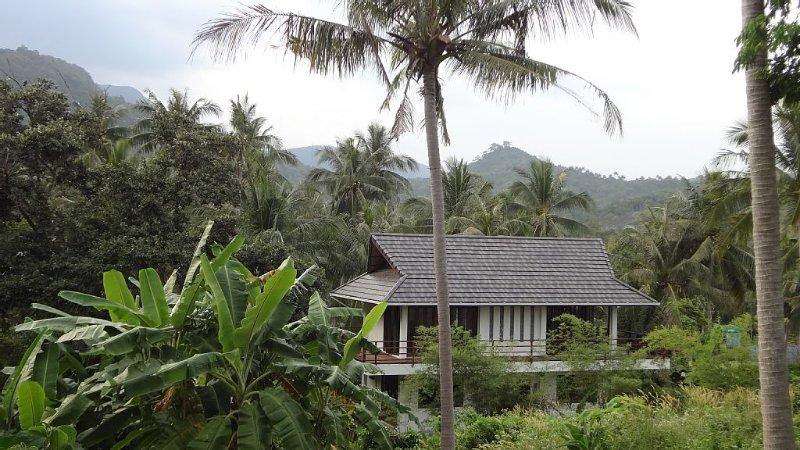 NEW Luxury 1, 2 Bedroom Sea View Villa 5 Mins Walk to Beach Front from £60/night, alquiler vacacional en Ban Thong Nai Pan