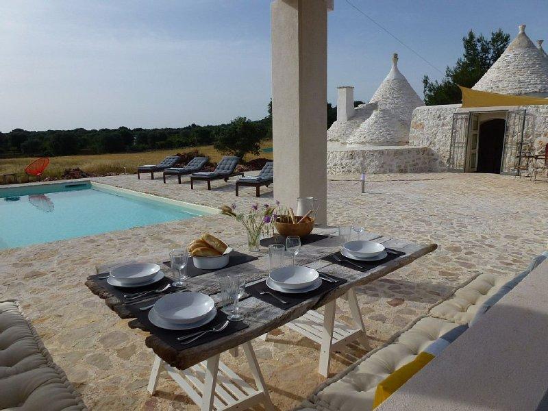 Romantic rural retreat in quiet countryside setting 2 Bed / 2 Bath, Private Pool, alquiler de vacaciones en Ceglie Messapica