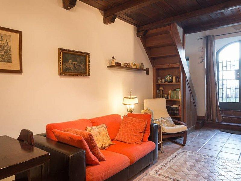 Appartamento con giardino privato, vacation rental in Monte Compatri