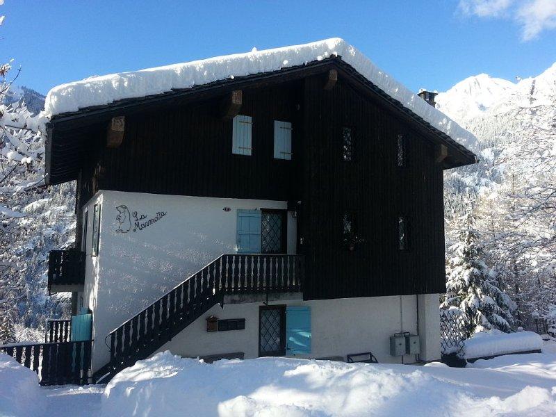 Villa in posizione panoramica e tranquilla adatta a famiglie amanti della natura, holiday rental in Verrand