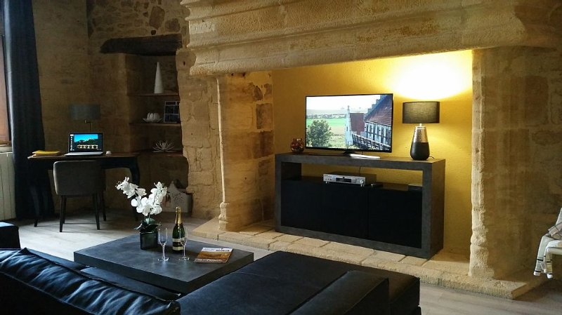 Very nice apartment in the heart of the medieval town of Sarlat, location de vacances à Sarlat la Canéda