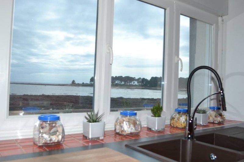 MAISON DE PECHEUR AVEC JARDIN CLOS, aluguéis de temporada em Morbihan