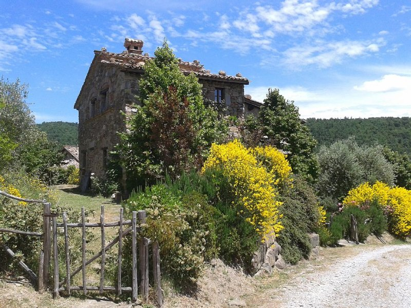 Romantico cottage con piscina, vacation rental in Colle San Paolo