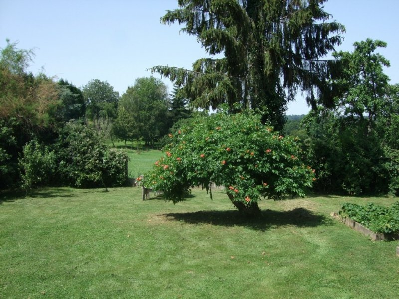 Beautiful village house, 6 bedrooms, large garden & short walk to lake beach, holiday rental in Sainte-Anne-Saint-Priest